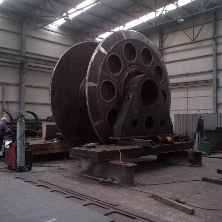 LARGE FABRICATION