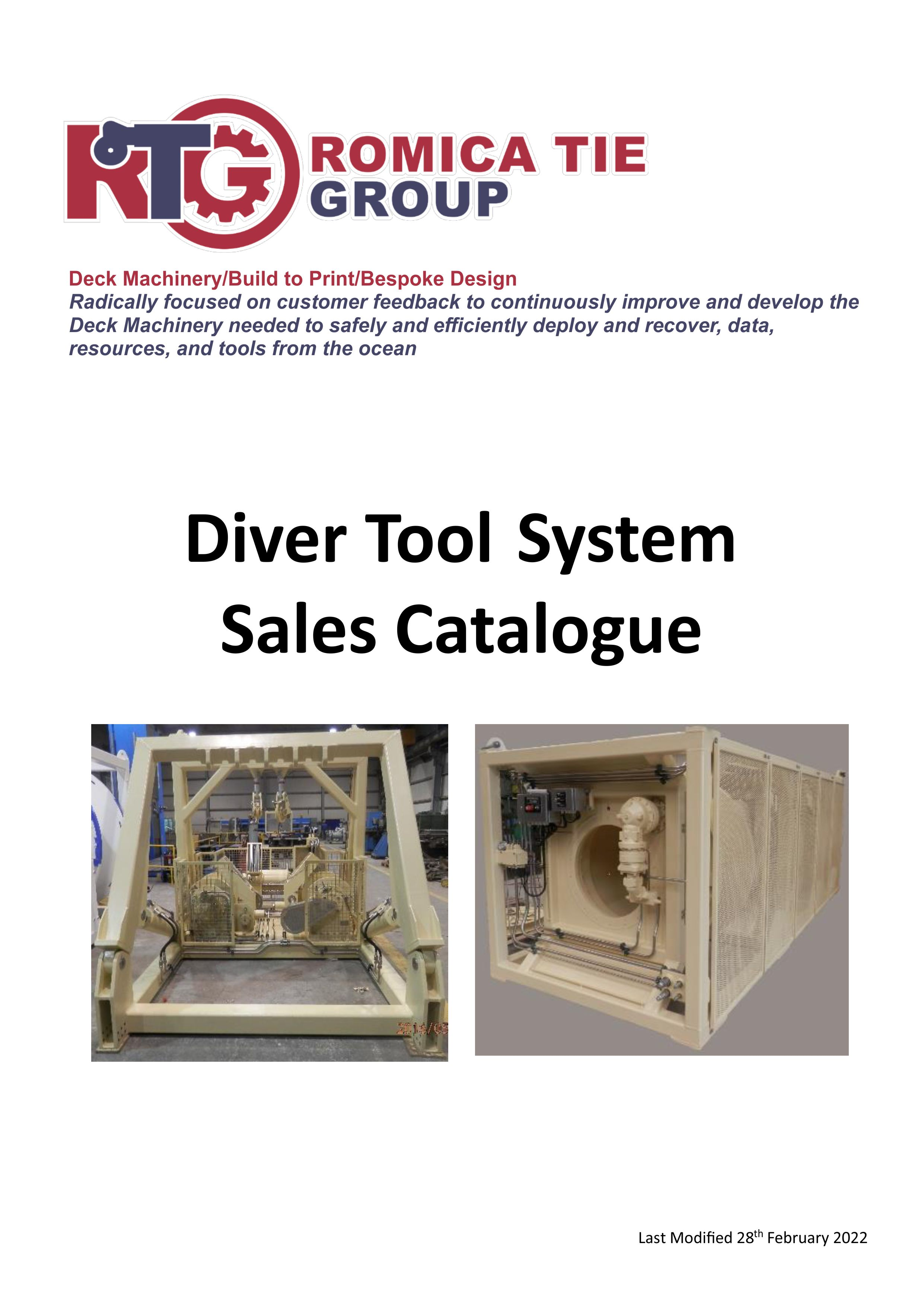 Diver Tool System